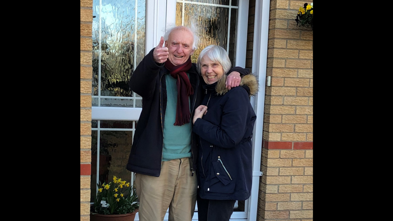 Gill and Keith Croxton